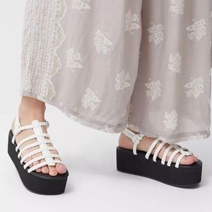 Urban Outfitters Platform Fisherman's Sandals